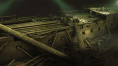 Acorazado Lefort 1844-imagen lateral del buque-imagen 3d
