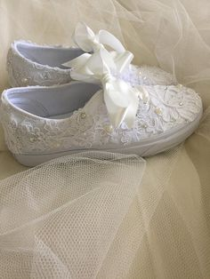 Bride Shoes Vans Wedding Shoe Wedding Tennis Shoes Wedding Trainers - for women sites Wedding Tennis Shoes, Wedding Vans, Wedding Sneakers, Bridal Wedding Shoes, Jeweled Shoes, Blue Sneakers, Bride Shoes, Wedding Accessories, Fashion Boots