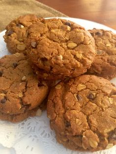 Stark Raving Delicious: Pumpkin Oat Chocolate Chip Cookies