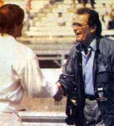 James Garner at the 1990 Indy 500.