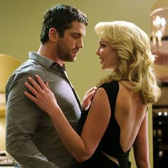 Double time.. Gerard Butler because .. have you seen and heard the man?  Katherine Heigl because she (for me) represents the healthy body and down to earth looks that I aspire to.