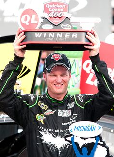 Quicken Loans 400 -- Dale Earnhardt Jr.  Dale Earnhardt Jr. raced to his first Sprint Cup victory in four years, ending a 143-race winless streak Sunday at Michigan International Speedway. His win came almost exactly four years to the day after his last trip to Victory Lane in a Cup race.