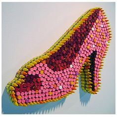 Crayon Sculpture