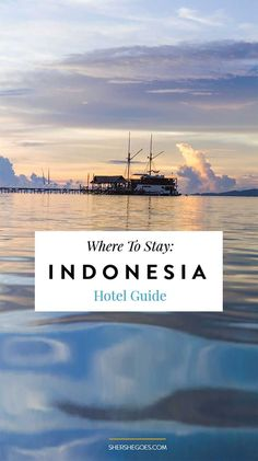 All the best hotels and accommodation for your trip to Indonesia. Covers Bandung, Yogyakarta (Jogja), Raja Ampat, Lombok and Gili.