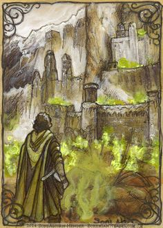 Oathbreakers In Minas Tirith by Soni Alcorn-Hender Lotr Swords, Lord Sauron, Lotr Cast, Minas Tirith, Morgoth, Aragorn, Dark Lord, Middle Earth, Lord Of The Rings