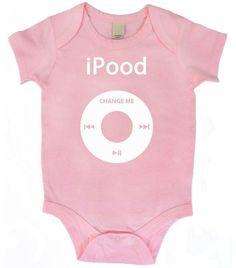 Infant Baby IPOOD Print Onesie