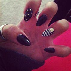 I really like the shape of these nails