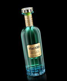 Italicus Liquor — The Dieline - Branding & Packaging Design Liquor Bottles, Glass Bottles, Vodka Bottle, Perfume Bottles, Gin Liquor, Concours Design, Packaging Design, Branding Design, Identity Branding