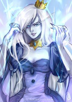 Ice Queen by Seo-Jin.deviantart.com on @deviantART