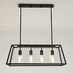 Big Loft Iron Pendant Lights Vintage Industrial Ceiling Lighting Lamp Chandelier