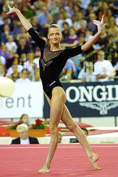Svetlana Khorkina - My favourite Russian gymnast crazy amazing!