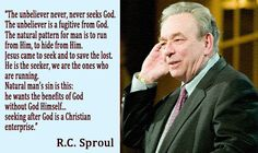 Dr. R.C.Sproul (snr) is endlessly inspiring, knowledgeable and eloquent about  Reformed Theology. He is definitely one of the most remarkable people in my opinion!