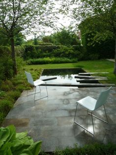 Reflecting pool; Eva Wagnerova; Eastern Europe; Gardenista