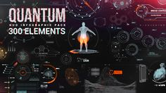 After Effects Project Files - Quantum HUD Infographic | VideoHive