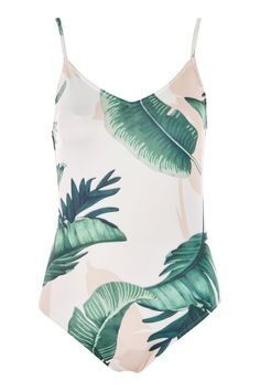 **Sandy Palm Print Bodysuit by WYLDR