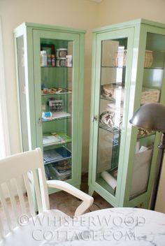 whisperwood cottage start of the makeover pair of vintage medical cabinets