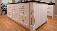 charming-diy-staining-kitchen-island-cabinets-refinishing-ideas-with-astounding-white-wooden-and-attractive-chrome-cup-pull-handle-drawers-also-awesome- ...