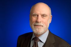 "Vint Cerf ""father"" of the internet"