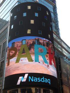 Times Square digital signage kicks off National Parks PSA | Digital Signage Today