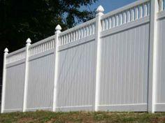 Vinyl Privacy Fencing   Vinyl