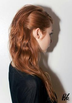 Spring 2013 trend. 60's inspired runway hair by bumble.