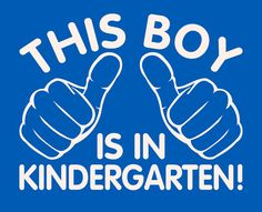 kindergarten t-shirt This boy is in kindergarten t-shirt. T-shirt for boys back to school shirt school clothes on Etsy, $12.65