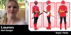 Lauren, The Red Samurai Ranger (Temporarily Replaced Jayden After He Was Injured) Power Rangers Morph, Power Rangers In Space, Power Rangers Samurai, Power Rangers Ninja Steel, Adventure Quest, Power Rengers, Sister Of The Groom, Green Ranger, Graphic Wallpaper