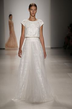 Tadashi Shoji. Top Bridal Picks from NYFW | RILEY & GREY http://blog.rileygrey.com/?p=1321 #spring2015