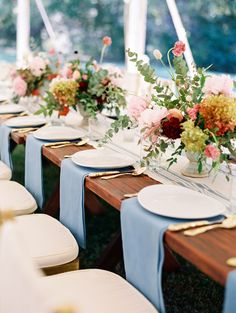 Colorful wedding table decor: http://www.stylemepretty.com/2017/02/13/blending-culture-and-tradition-in-the-prettiest-of-ways/ Photography: Becca Lea - http://beccalea.com/