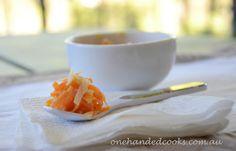 baby & toddler food: vegetable spaghetti #onehandedcooks