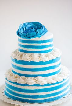 Full tutorial (with video!) on how to make this cake!