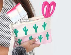 MY DIY | Back-to-School Cotton Canvas Cactus Bag