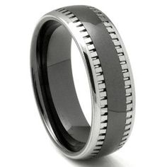 Sincere Triton White Tungsten Carbide Men's Wedding Band Engagement & Wedding ~brand New~ Size 8. Jewelry & Watches