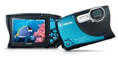 I've been waiting for Canon to come out with a waterproof camera.  Might need to treat myself soon.
