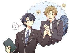 Another cute ship Free Anime, Tsundere, Love Art, Masaki, Fandoms, Fan Art, Manga, Cute, Netflix