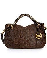 MICHAEL Michael Kors Handbag, Tristan Medium Satchel