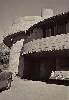 David Wright home. Phoenix Arizona. 1950. Frank Lloyd Wright