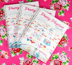 Do you have your copy of Pretty Playtime Quilts? There's a fabulous sew along happening now that we'd love you to join! Visit for all the details Baby Girl Quilts, Girls Quilts, Block Of The Month, Fat Quarter Shop, Quilt Kits, Quilting Tutorials, Pinwheels, Quilt Patterns, Sew