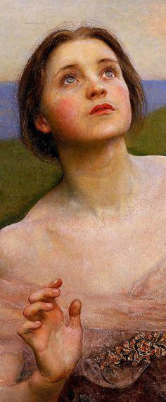 "clara–lux: "" SWYNNERTON, Annie Louise (née Robinson) (1844-1933) The Sense of…"