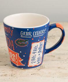 Love this Florida Gators Collegiate Mug by Glory Haus on Fla Gators, Florida Gators Football, College Football, Gator Football, Florida Girl, University Of Florida, Cute Mugs, Sports, Game
