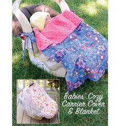 K3923 Babies' Cozy Carrier Cover & Blanket