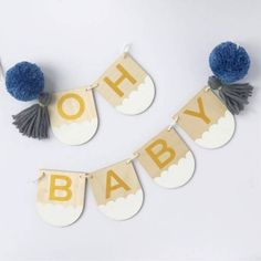 Oh Baby Bunting – Craft Kit – And so to Shop Kids Bedroom, Bedroom Decor, Baby Bunting, Craft Kits, Shop, Crafts, Manualidades, Dorms Decor, Handmade Crafts