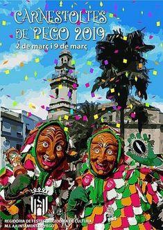 Els millors carnestoltes de les comarques centrals tornen a Pego Lema, Comic Books, Comics, Cover, Movie Posters, Alicante, Footprint, Door Prizes, Fiestas