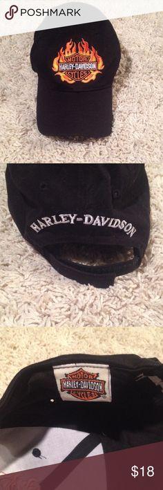 Harley Davidson Hat Official Harley Davidson cap. Velcro back closer. New condition. Harley-Davidson Accessories Hats