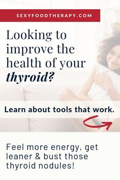 Looking to improve the health of your thyroid? Grab your spot to my FREE masterc. Hormone Imbalance Symptoms, Hormone Diet, Thyroid Nodules, Thyroid Symptoms, Thyroid Diet, Thyroid Disease, Thyroid Nodule Treatment, Adrenal Health, Adrenal Fatigue