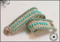 Silver Turq Channeled Bracelet.jpg