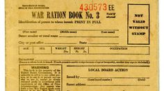 Find out more about wartime restrictions and try out a popular ration recipe.