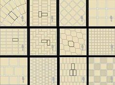 floor tile design patterns
