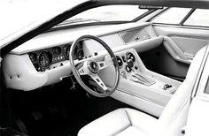 Lamborghini Jarama interior