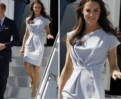 I love her dress and nude shoes. I have some nude heels I can't wait to break out for spring.